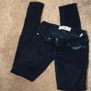 Hollister Dark Blue Jeans